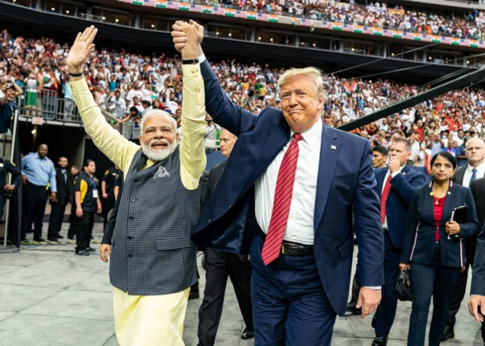 Narenda Modi et Donald Trump Photo: Wikimedia Commons
