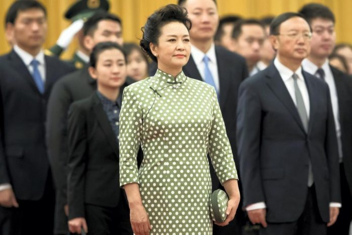 Peng Liyuan / Photo: Twitter