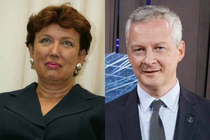 Roselyne Bachelot et Bruno Le Maire / Photo: Wikimedia Commons