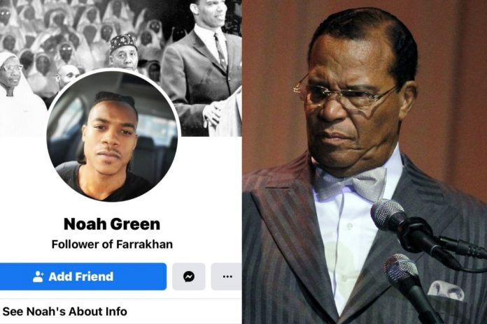 Noah Green. Louis Farrakhan / Photo: Facebook